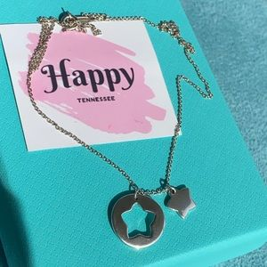 Tiffany & Co Star Stencil necklace
